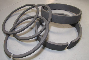 Carbon Filled Teflon Rings